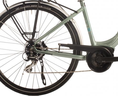 Raleigh ebike rear wheel bosch