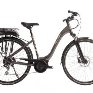 Raleigh electric bike Norwich city grey