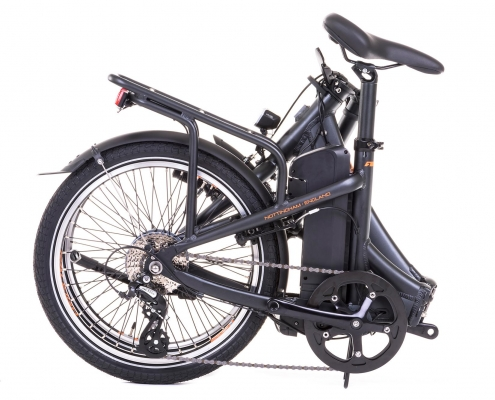 Raleigh stow e way folded black