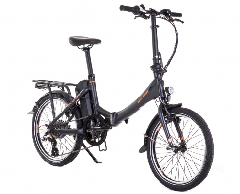 Raleigh stow e way ebike frontside
